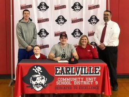Brennan Sweeney signs to North Central