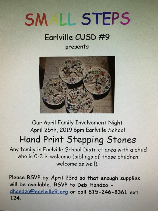 Small Steps family night!!!