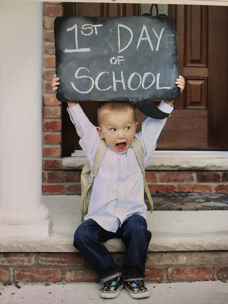 Monday, August 19th is the first day of school!!!