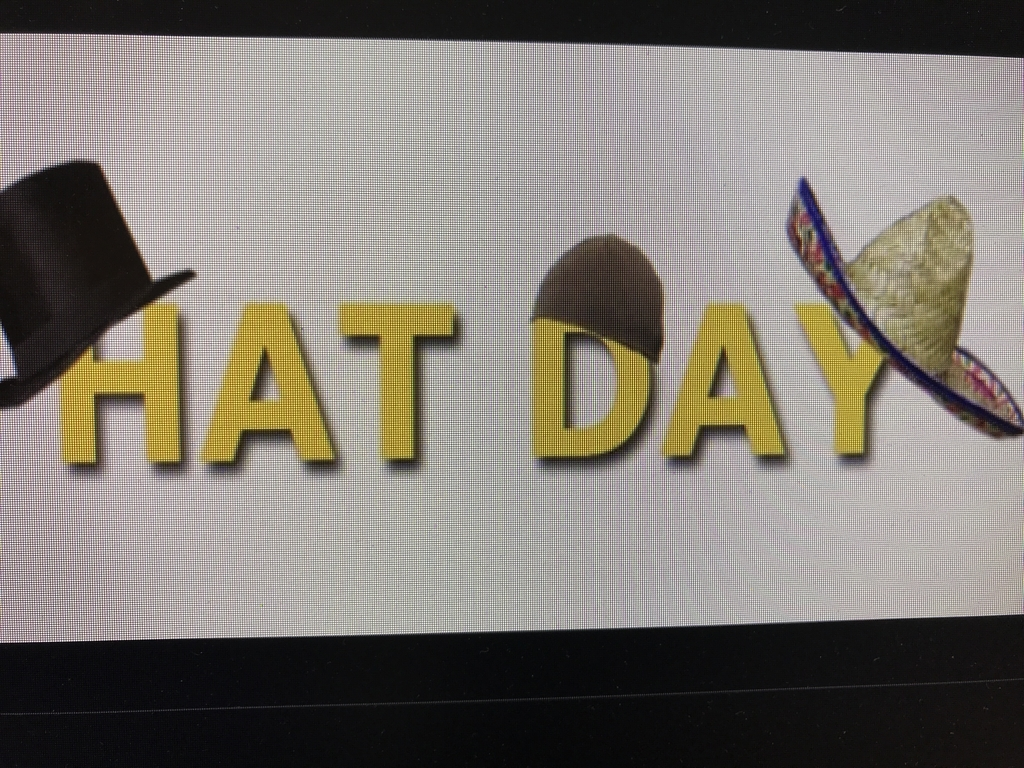 Hat day this Friday for $1.00