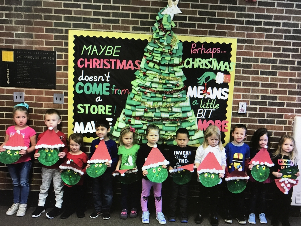 The cutest little Grinches!!!!